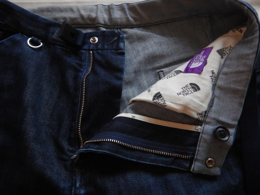 THE NORTH FACE purple label denim shorts coolmax ザノースフェイスパープルレーベル クールマックスデニムショーツ