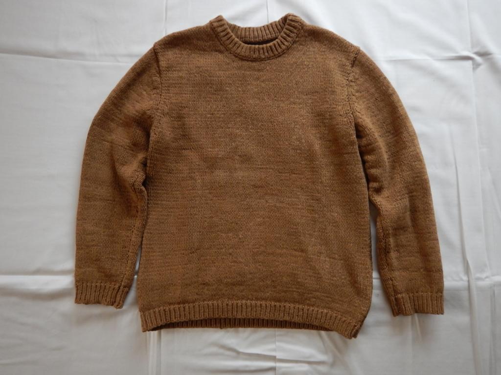 bukht fake suede knit pullover ブフト フェイクスエードニットプルオーバー