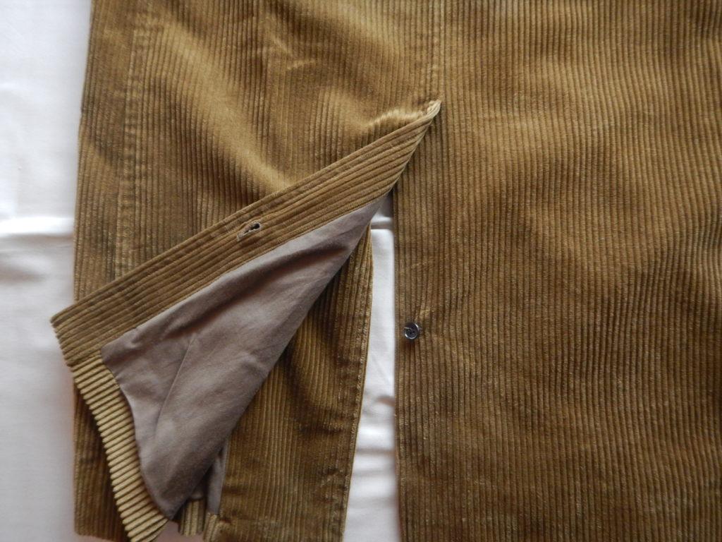 Graphpaper BRISBANE corduroy coat グラフペーパー ブリスベン コーデュロイコート