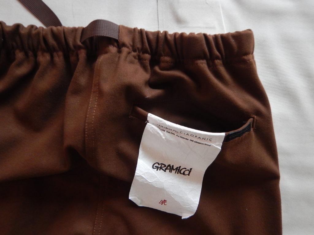 ciaopanic別注 Gramicci flannel Jogger pants チャオパニック グラミチ フランネルジョガーパンツ