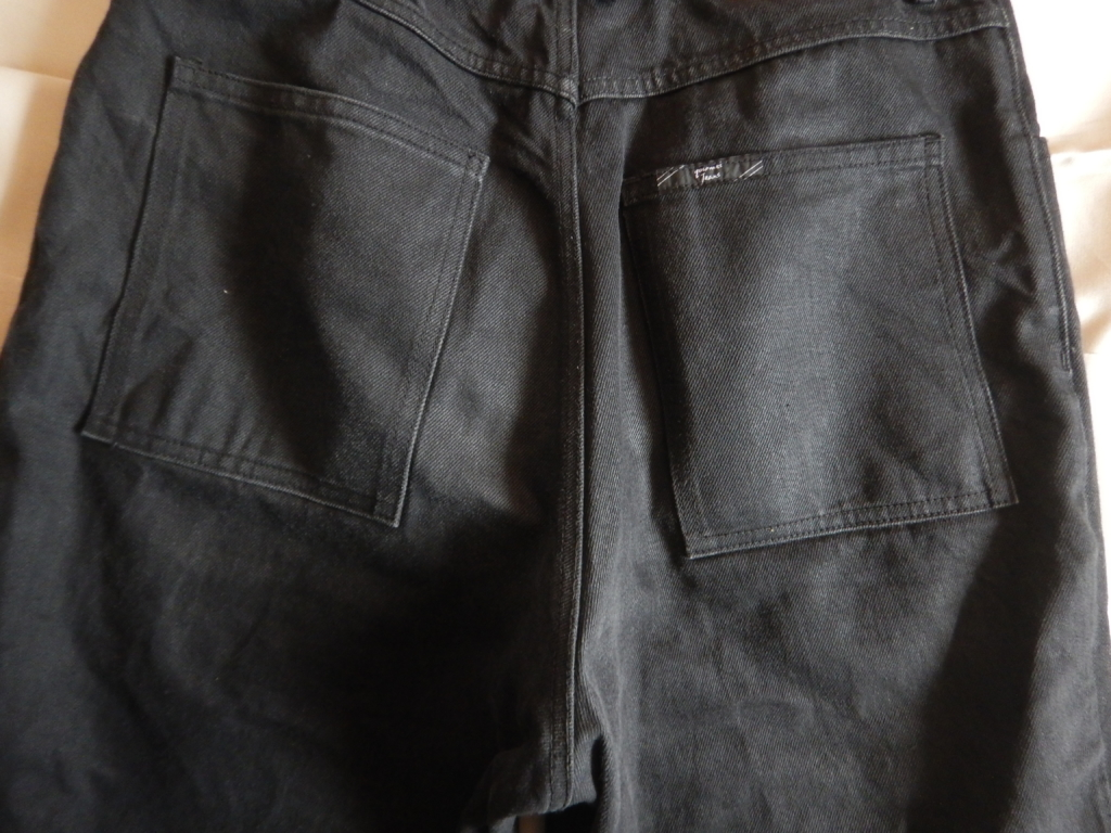 gourmet jeans type3 lean denim pants black グルメジーンズ タイプ3 リーンデニムパンツ