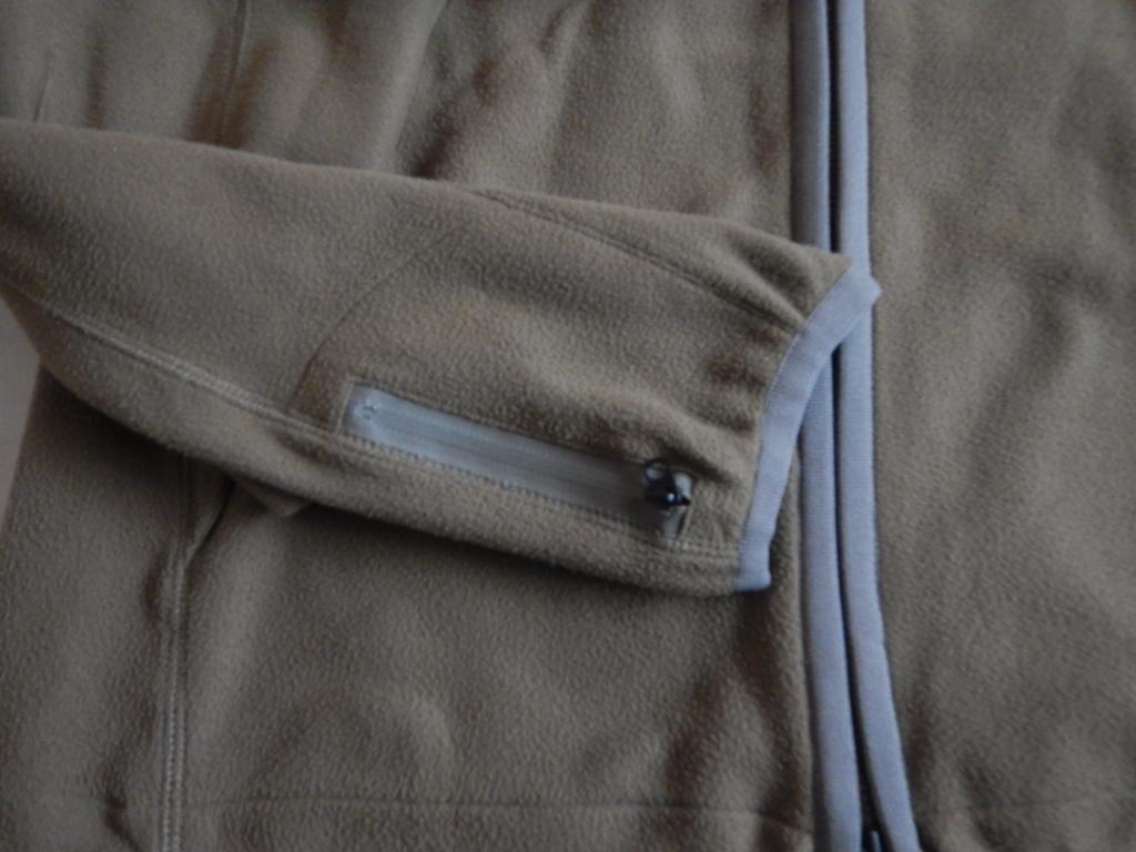 WISLOM fleece jacket olive ウィズロム フリースジャケット