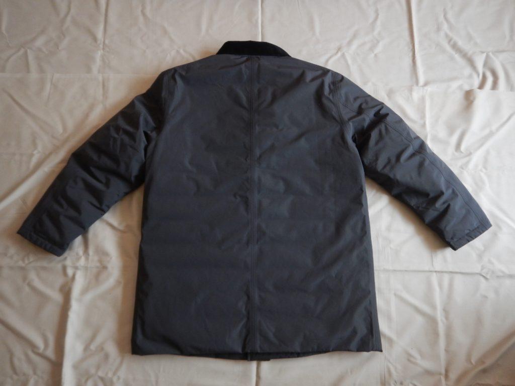 2019aw nanamica GORE-TEX down coat gray ナナミカ ゴアテックスダウンコート