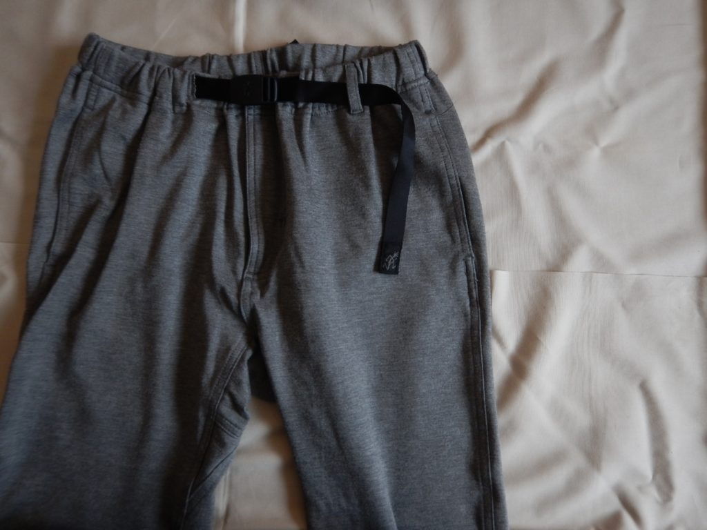 Gramicci new-narrow pants sweat light gray グラミチ ニューナロースウェットパンツ