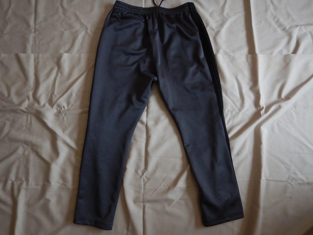 needles straight track pants gray×black ニードルス ストレートトラックパンツ グレー×ブラック
