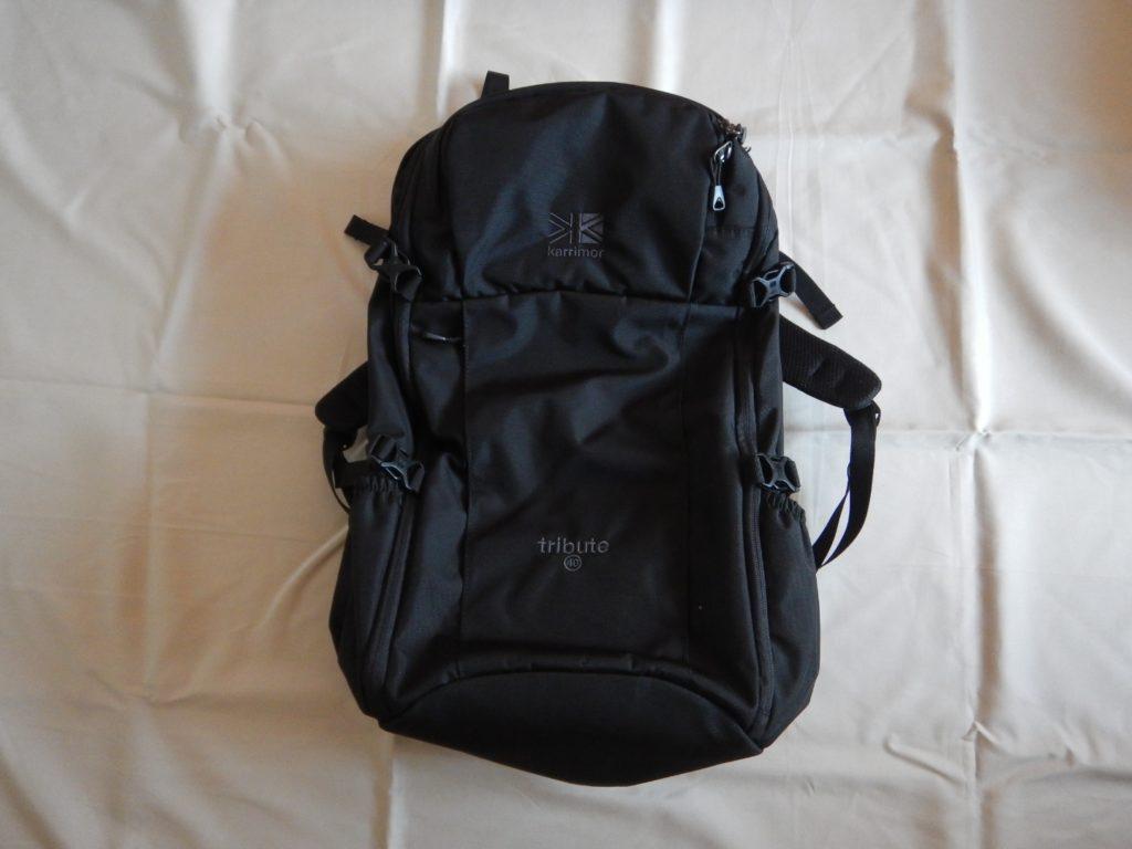 karrimor backpack tribute 40 black カリマー トリビュート リットル