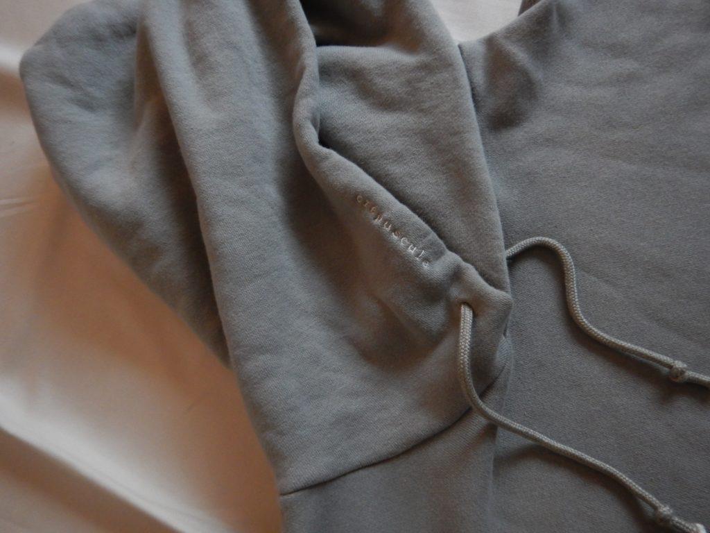 2019ss crepuscule garment dye hoody green クレプスキュール ガーメントダイフーディ