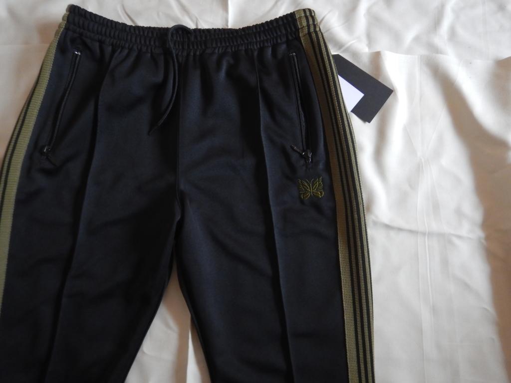 needles narrow track pants black×khaki wild life tailor 2020ss ニードルス ナロートラックパンツ ワイルドライフテーラー