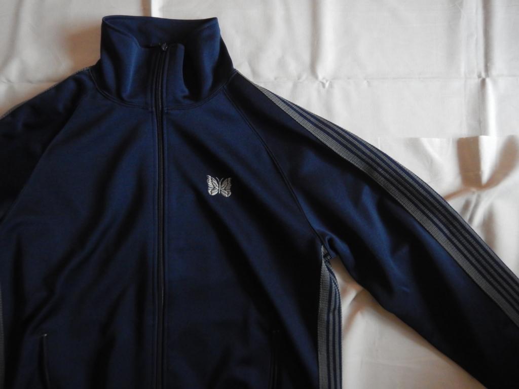 Loftman別注 needles track jacket navy×gray ロフトマン ニードルス トラックジャケット ネイビー