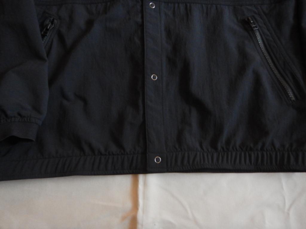 nanamica alpha dry cardigan black S size 2020ss ナナミカ アルファドライカーディガン